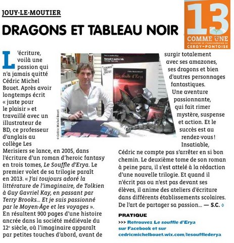 article souffle d'erya
